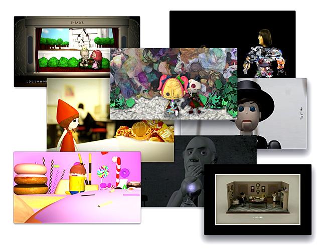 デザインウィーク in せんだい2012の映像ギャラリーにて歴代の卒業制作作品が上映されます。